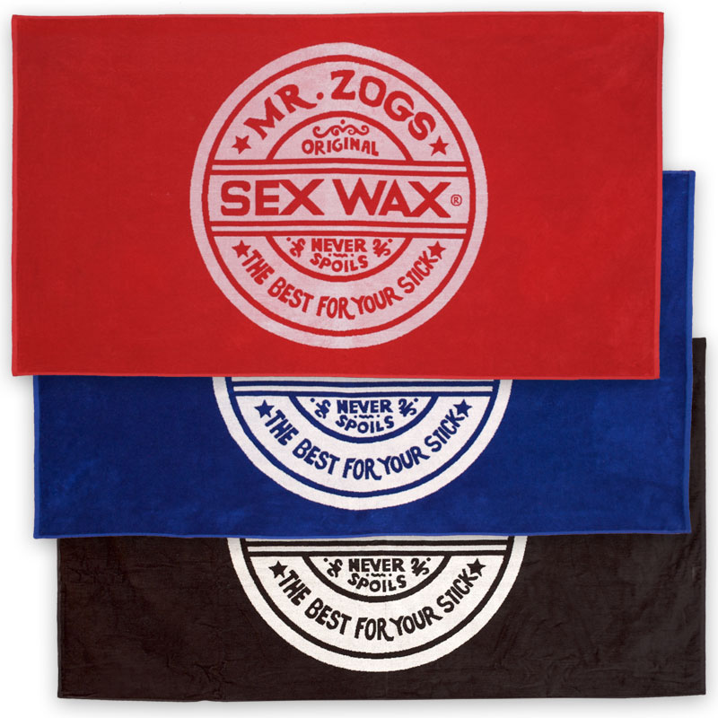 SexWax Beach Towels Sex Wax Pool Bath Swim Blanket Picnic Terry Cloth